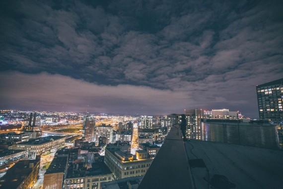 E night sky