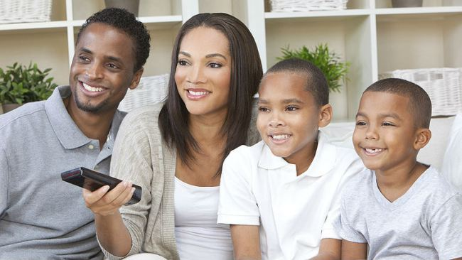 black-family-watching-television-16x9