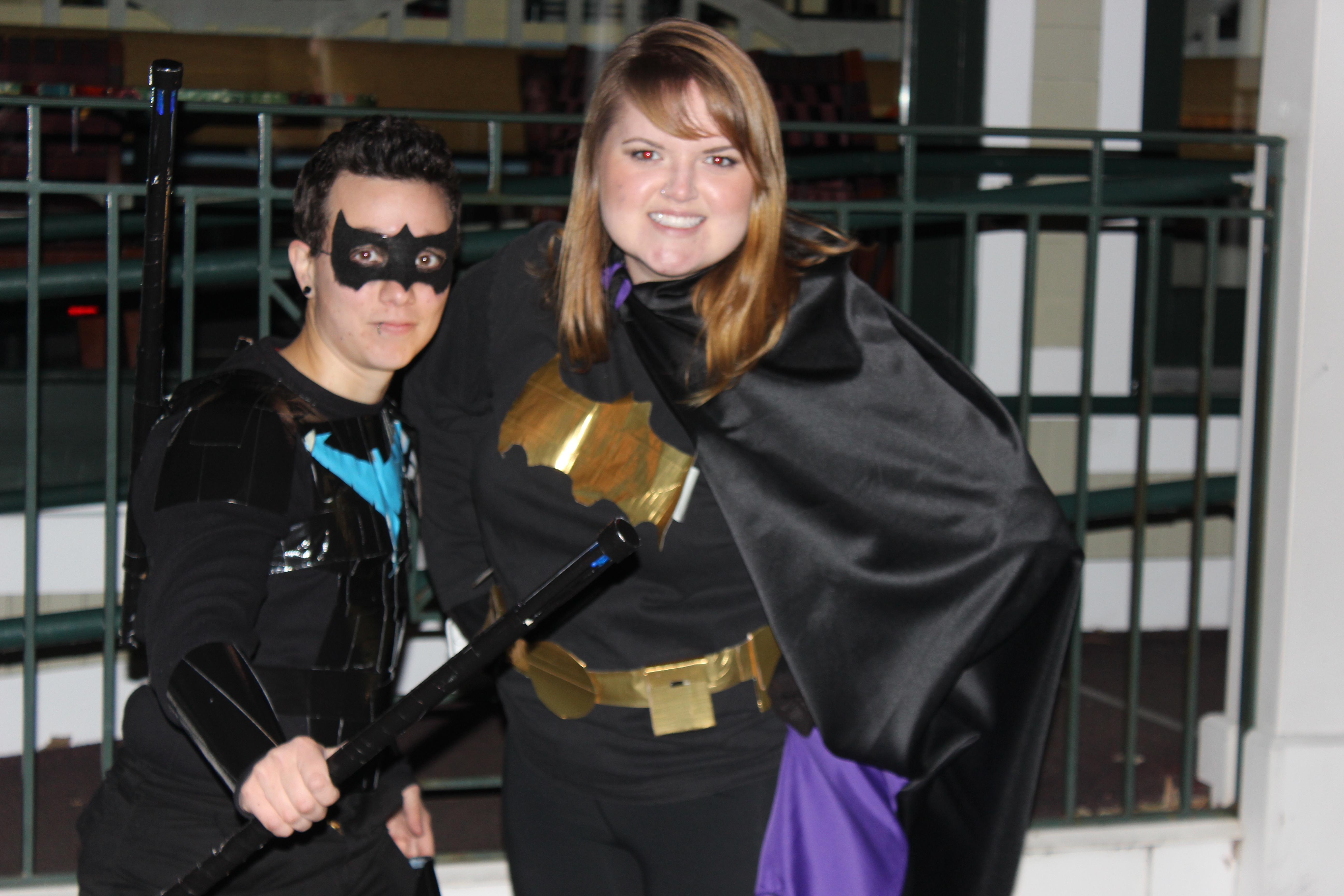 Night Wing and Batman