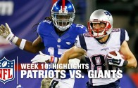 How The Patriots won over the Giants with Game Notes