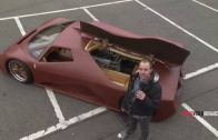 Man Makes A 600HP Supercar Out Of Wood Called The Splinter