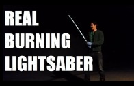 Watch The First Real Lightsaber in Action