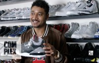 Don C Shares his Air Jordan Knowledge While Sneaker Shopping