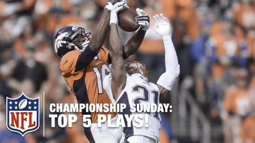 Watch The Top 5 Plays from AFC Championship Sunday
