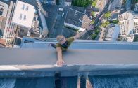 Watch a Man With A Live GoPro Scale The World's Tallest Church Spire