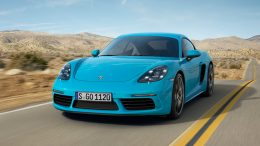 Porsche 718 Cayman Comes With New Turbocharged Engines