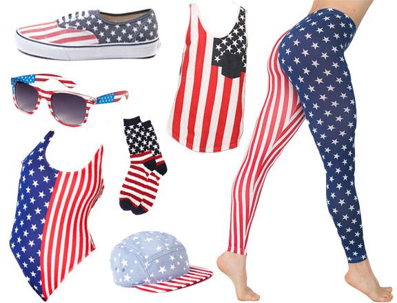 American Flag Apparel