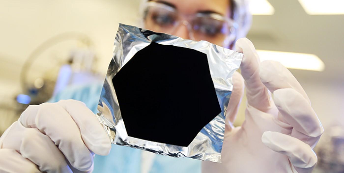 Vantablack: the blackest black