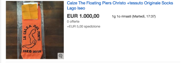 """Floating Piers"" on eBay"