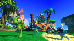 Yooka-Laylee is an all-new open-world platformer from key creative!
