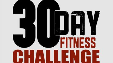 30-Day Fitness Challenges you can enjoy from the comfort of your home !