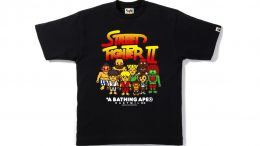 "A Bathing Ape Reveals An Amazing ""Street Fighter"" Collection"
