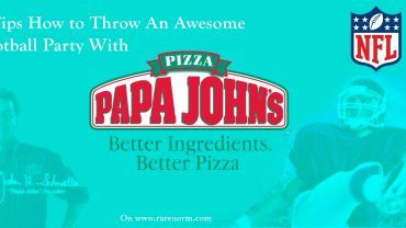 5 Tips How to Throw An Awesome Football Party With Papa Johns