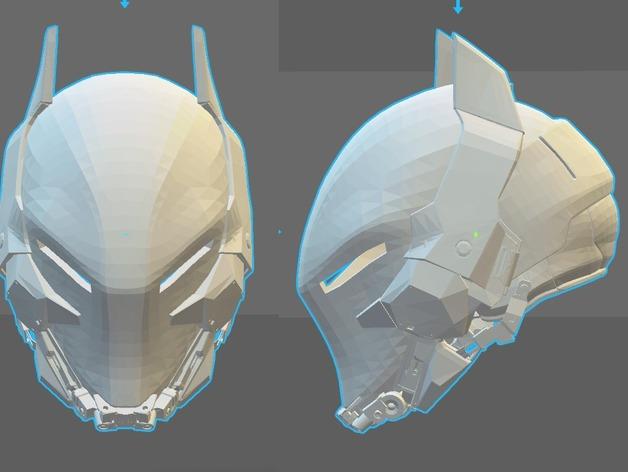 DIY Wearable Batman Helmet
