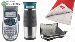 Today's Best Deals: Contigo Mugs, Coleman Camping Gear, DYMO Label Makers, and More