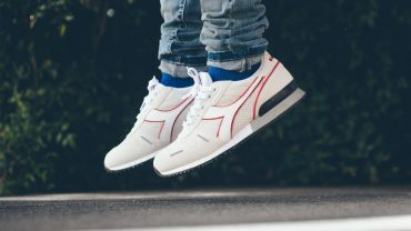 Diadora Addresses the Titan II in Top quality Off-White Suede
