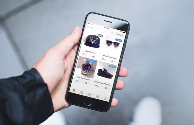 The Snupps app's commerce features powered by eBay. Photo: Courtesy