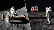 New Video clip Has 'Conclusive Proof' The Moon Landing Was Faked