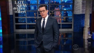 "Stephen Colbert: Moby Seems ""More Reliable Than Kellyanne Conway and Sean Spicer"""