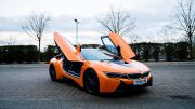 We Took The Orange BMW i8 For A Spin And It Was Fantastic