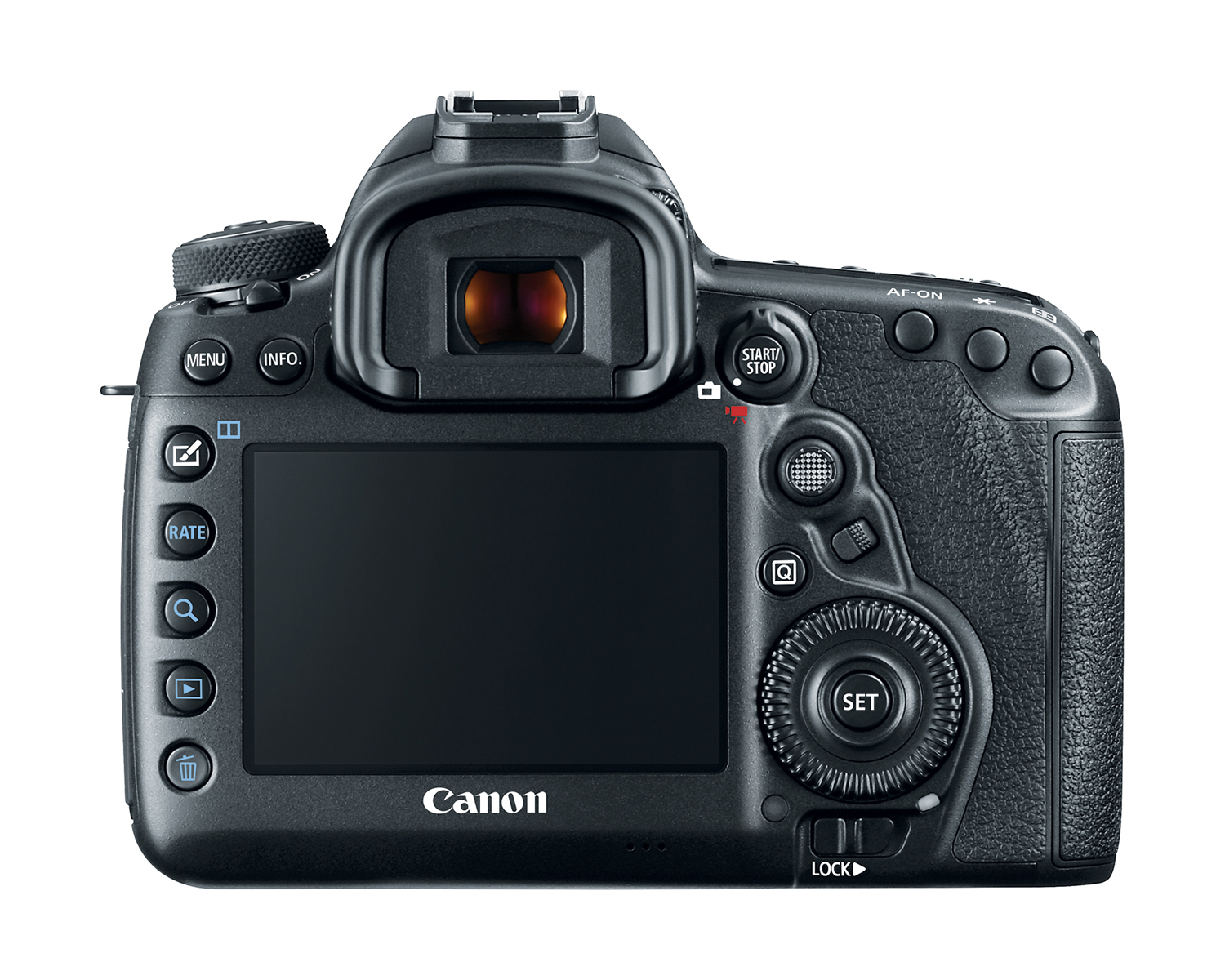 Canon 5D Mark IV Review EOS 5D MarkIV body back hiRes