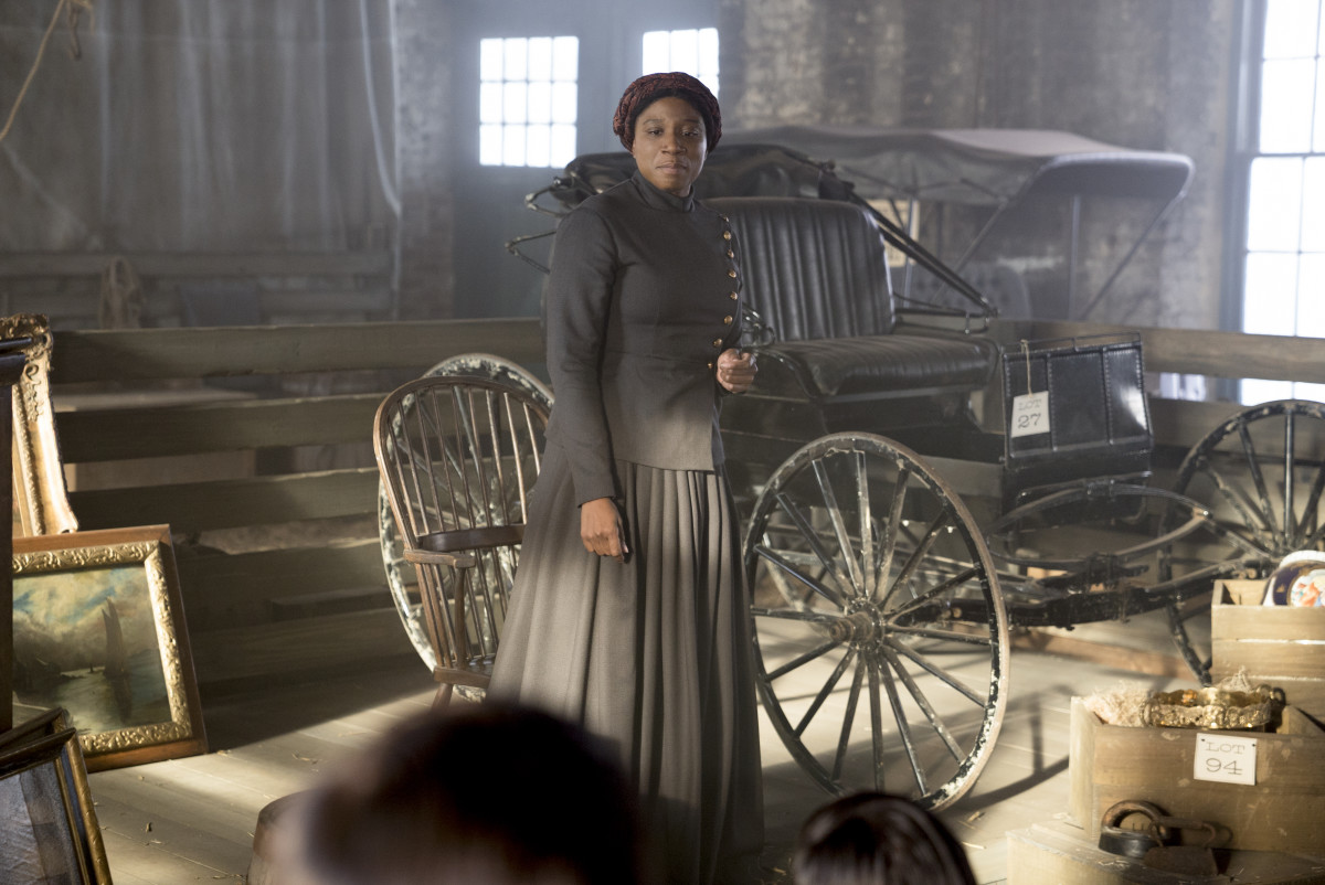 Aisha Hinds as Harriet Tubman. Photo: