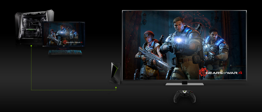 2017 NVIDIA Shield TV (2nd Gen) Review cast pc games on tv