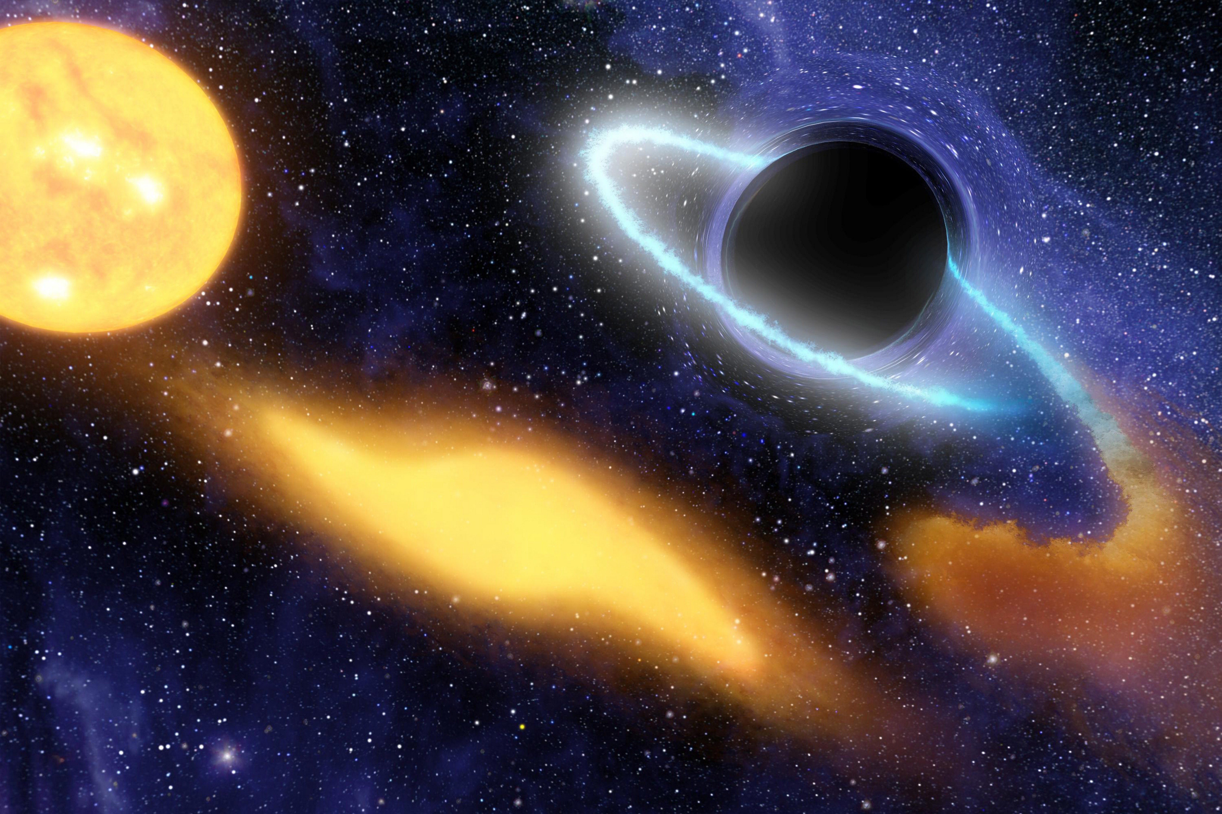 Astronomers Have Taken The First Ever Picture Of A Black Hole GettyImages 590676611