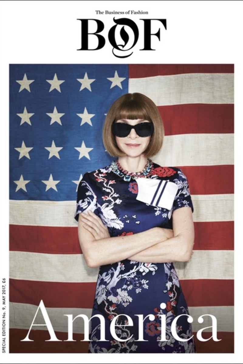 Anna Wintour for BoF. Photo: Patrick Demarchelier/Business of Fashion