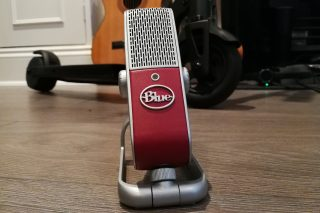 Blue Raspberry Microphone