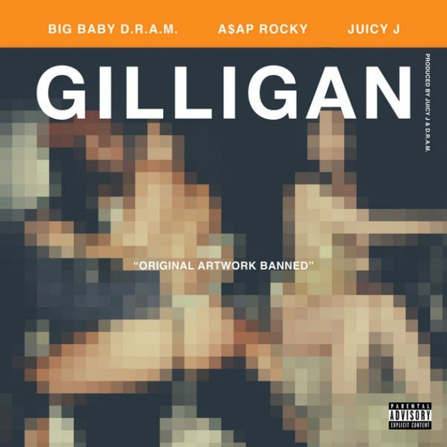 Gilligan-DRAM-ASAP-Rocky-Juicy J