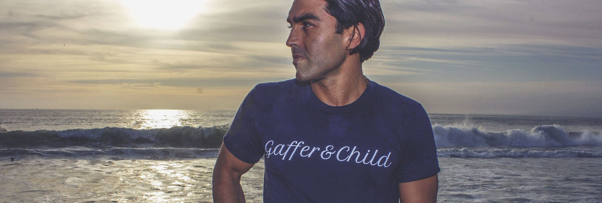 Grigore Madikians, the founder of Gaffer & Child. Photo: Courtesy of Gaffer & Child