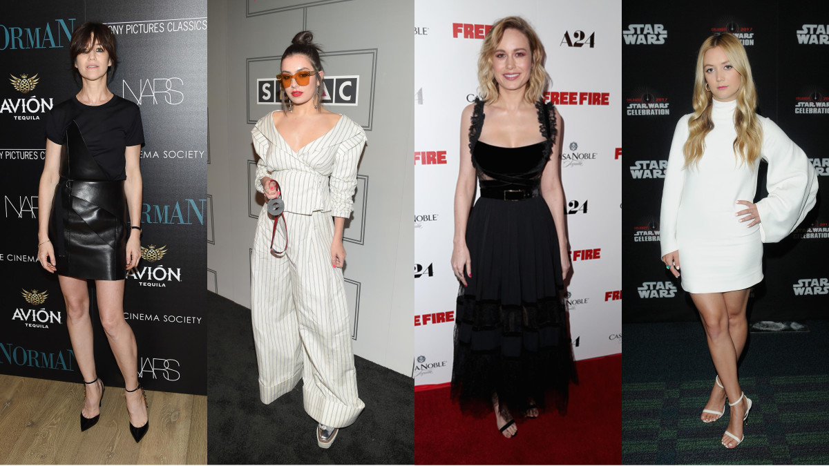 Charlotte Gainsbourg, Charli XCX, Brie Larson and Billie Lourd are among this week's best-dressed celebrities. Photo: Getty Images
