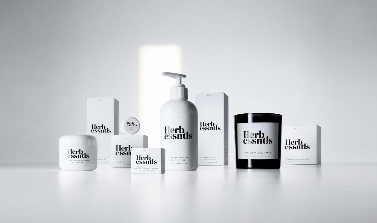 Herb Essntls's full product line. Photo: Courtesy of Herb Essntls