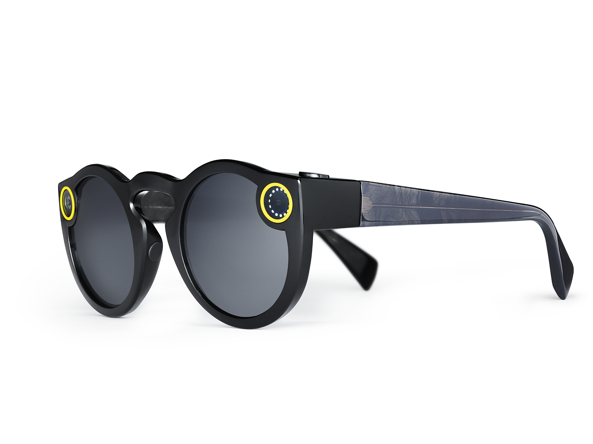 Snapchat Spectacles Now Available To Buy Outside Of The U.S. 2 Black Spectacles