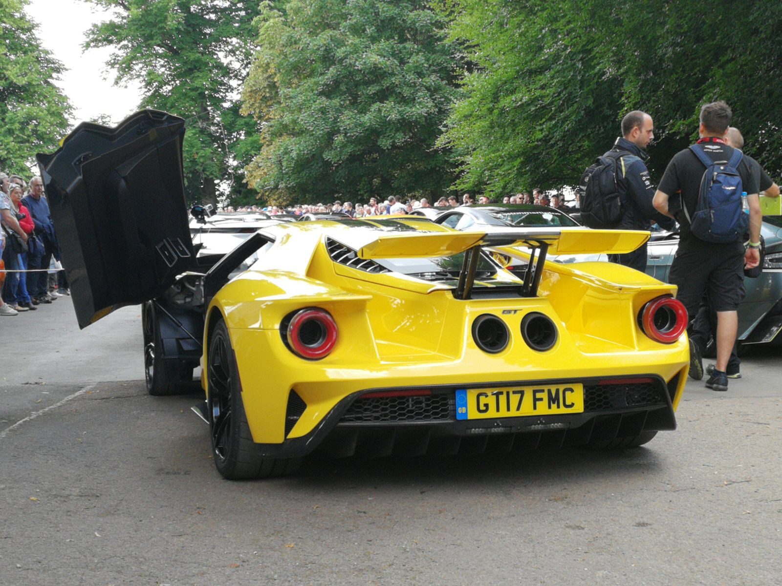 Ford GT and Mustang GT4 At The 2017 Goodwood Festival Of Speed IMG 4512