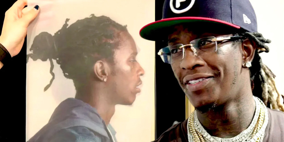 "Catch Young Thug Checking out the ""Young Thug as Paintings"" Exhibition in Miami"