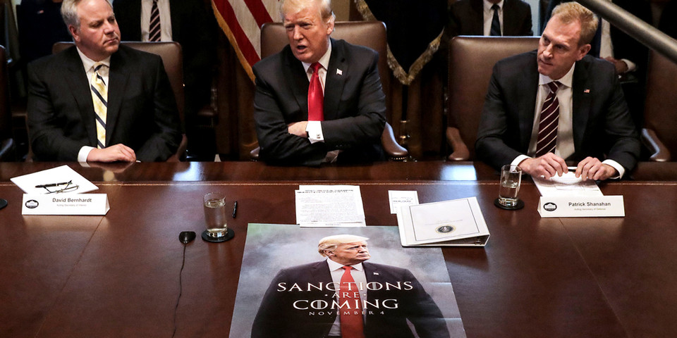 Donald Trump Debuts Game of Thrones-Themed Poster