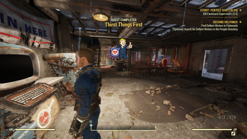 Fallout 76: Thirst Things First (Guide And Walkthrough)