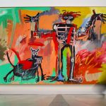 Jean-Michel Hid Secret Drawings with Uv Paint