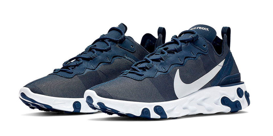 "Nike React Element 55 ""Midnight Navy"" Release"