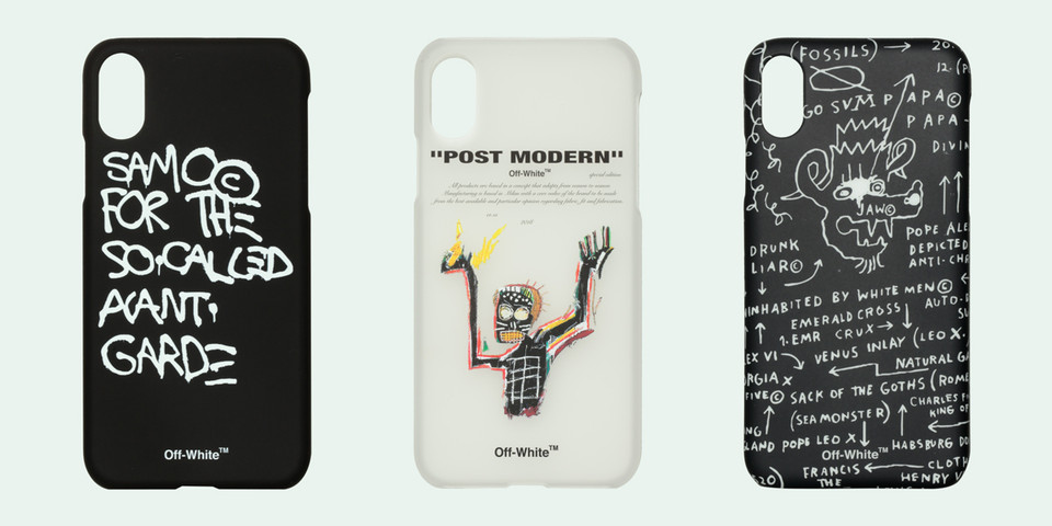 Off-White™ Keeps the Basquiat Love Coming With Printed iPhone X Cases