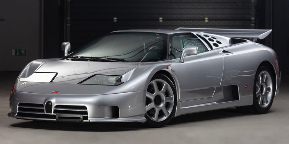 RM Sothebys 1994 Bugatti EB110 Super Sport Auction